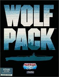 Box cover for WolfPack on the Atari ST.