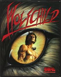 Box cover for Wolfchild on the Atari ST.