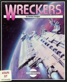 Box cover for Wreckers on the Atari ST.