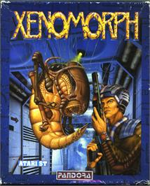 Box cover for Xenomorph on the Atari ST.