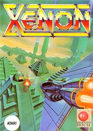 Box cover for Xenon on the Atari ST.
