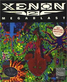 Box cover for Xenon 2: Megablast on the Atari ST.