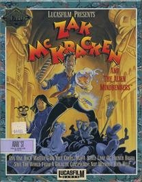 Box cover for Zak McKracken and the Alien Mindbenders on the Atari ST.