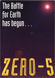 Box cover for Zero 5 on the Atari ST.