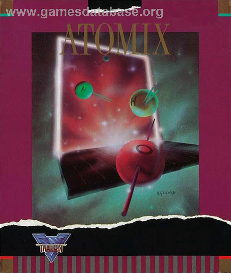Atomix - Atari ST - Artwork - Box