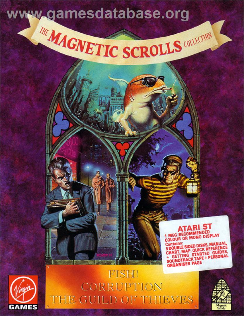 Magnetic Scrolls Collection - Atari ST - Artwork - Box
