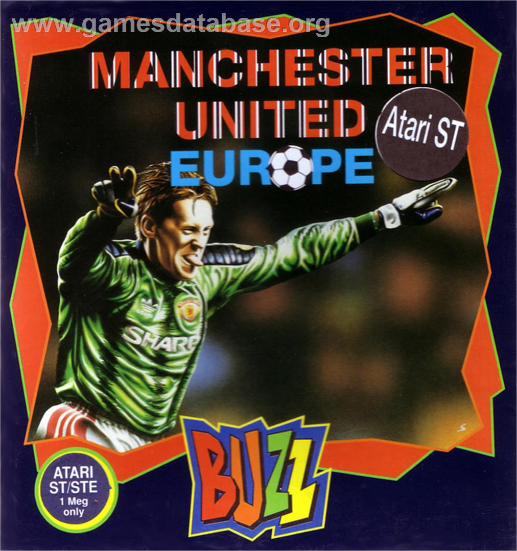 Manchester United - Atari ST - Artwork - Box