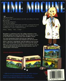 Box back cover for Big Game Fishing on the Atari ST.
