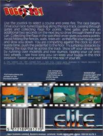 Box back cover for Billy Boy on the Atari ST.