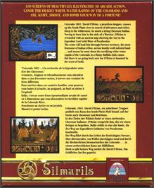 Box back cover for Colorado on the Atari ST.