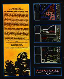 Box back cover for Crystal Kingdom Dizzy on the Atari ST.
