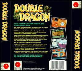 Box back cover for Double Dragon on the Atari ST.