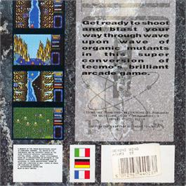 Box back cover for Gemini Wing on the Atari ST.