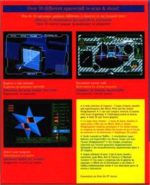 Box back cover for Magic Fly on the Atari ST.