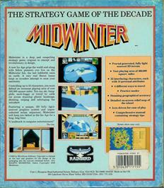 Box back cover for Mind Bender on the Atari ST.
