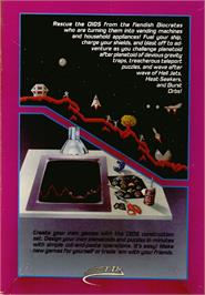 Box back cover for Oids on the Atari ST.