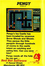 Box back cover for Peking 3.0 on the Atari ST.