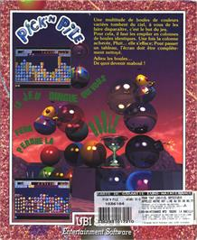 Box back cover for Pick 'n' Pile on the Atari ST.