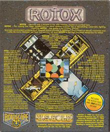 Box back cover for Rotox on the Atari ST.