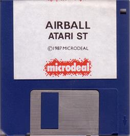 Artwork on the Disc for Airball on the Atari ST.