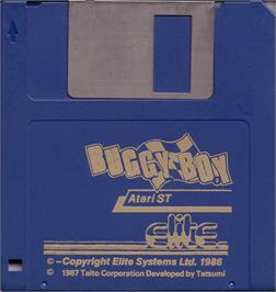 Artwork on the Disc for Billy Boy on the Atari ST.