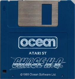 Artwork on the Disc for Chase H.Q. on the Atari ST.