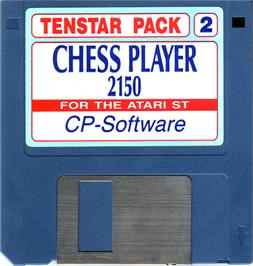 Artwork on the Disc for Chess Player 2150 on the Atari ST.