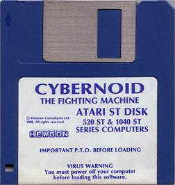Artwork on the Disc for Cybernoid: The Fighting Machine on the Atari ST.