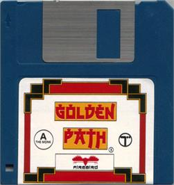 Artwork on the Disc for Golden Path on the Atari ST.