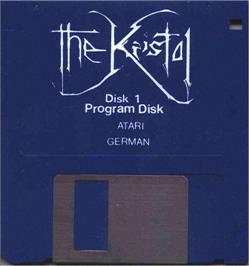 Artwork on the Disc for Kristal on the Atari ST.