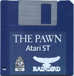 Artwork on the Disc for Pawn on the Atari ST.