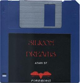 Artwork on the Disc for Silicon Dreams on the Atari ST.