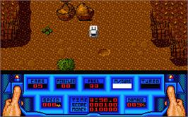 In game image of 5th Gear on the Atari ST.