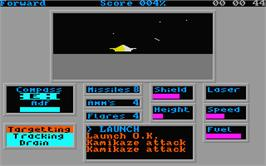 In game image of Academy: Tau Ceti 2 on the Atari ST.