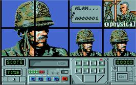 In game image of Action Pack on the Atari ST.