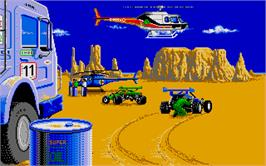 In game image of African Raiders-01 on the Atari ST.
