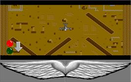 In game image of Airborne Ranger on the Atari ST.