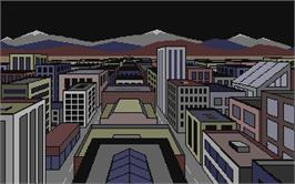 In game image of Alternate Reality: The City on the Atari ST.