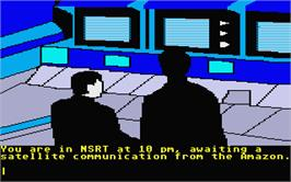 In game image of Amazon on the Atari ST.