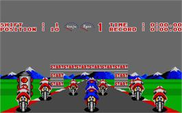 In game image of Angel Nieto Pole 500 on the Atari ST.