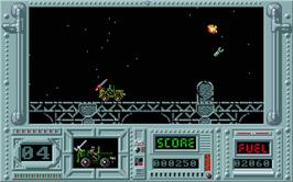 In game image of Army Moves on the Atari ST.