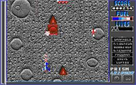 In game image of Artificial Dreams on the Atari ST.