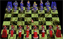 In game image of Battle Chess on the Atari ST.