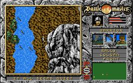 In game image of Battle Valley on the Atari ST.