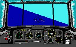 In game image of Battlehawks 1942 on the Atari ST.