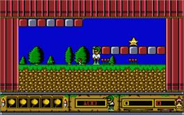 In game image of Billy Boy on the Atari ST.
