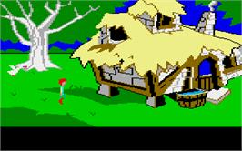 In game image of Black Cauldron on the Atari ST.