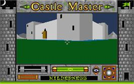 In game image of Castle Master on the Atari ST.