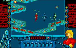 In game image of Cohort 2 on the Atari ST.