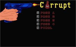 In game image of Corruption on the Atari ST.
